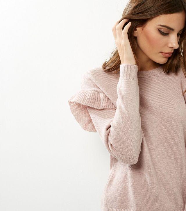 shell-pink-frill-trim-jumper